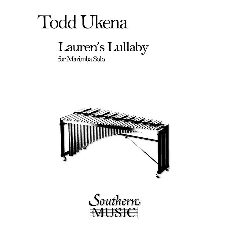 Hal LeonardLauren's Lullaby (Percussion Music/Mallet/marimba/vibra) Southern Music Series Composed by Ukena, Todd