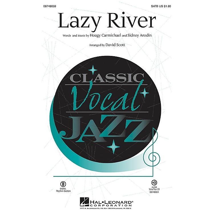 Hal LeonardLazy River SATB arranged by David Scott