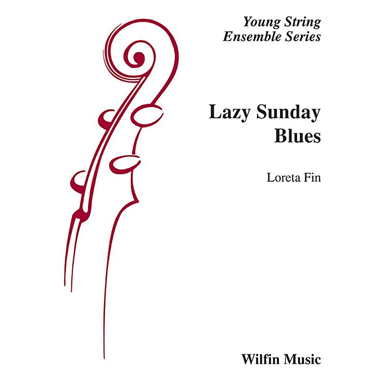 Alfred Lazy Sunday Blues String Orchestra Grade 2 Set