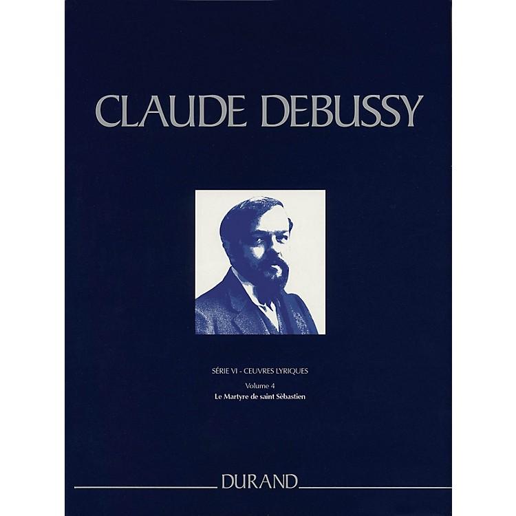 Editions DurandLe Martyre de saint Sébastien Critical Ed Full Sc, Hardbound by Debussy Edited by Boulez