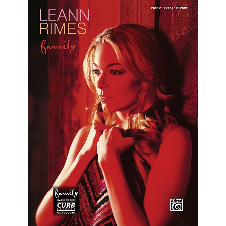 AlfredLeAnn Rimes Family Piano/Vocal/Chords