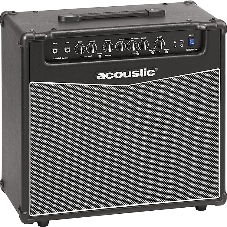 AcousticLead Guitar Series G100FX 100W 1x12 Guitar Combo Amp