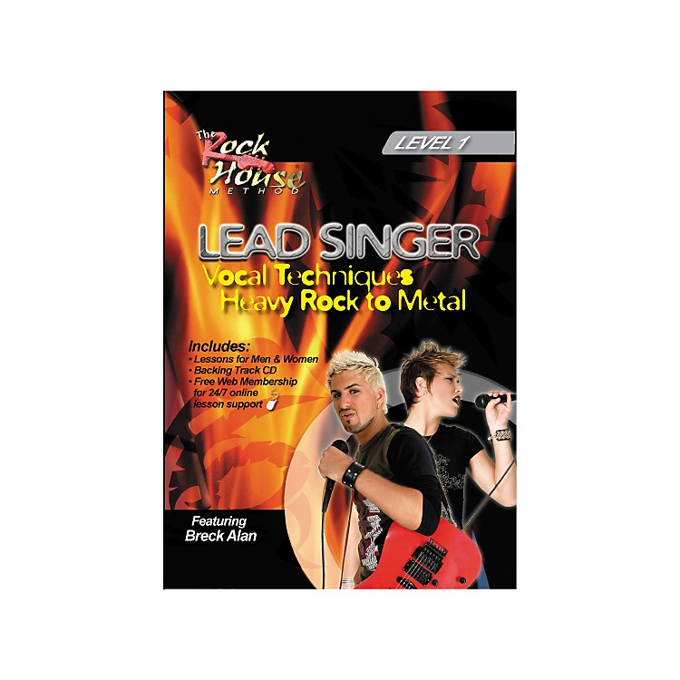 Hal LeonardLead Singer Vocal Techniques From Heavy Rock to Metal DVD Level 1