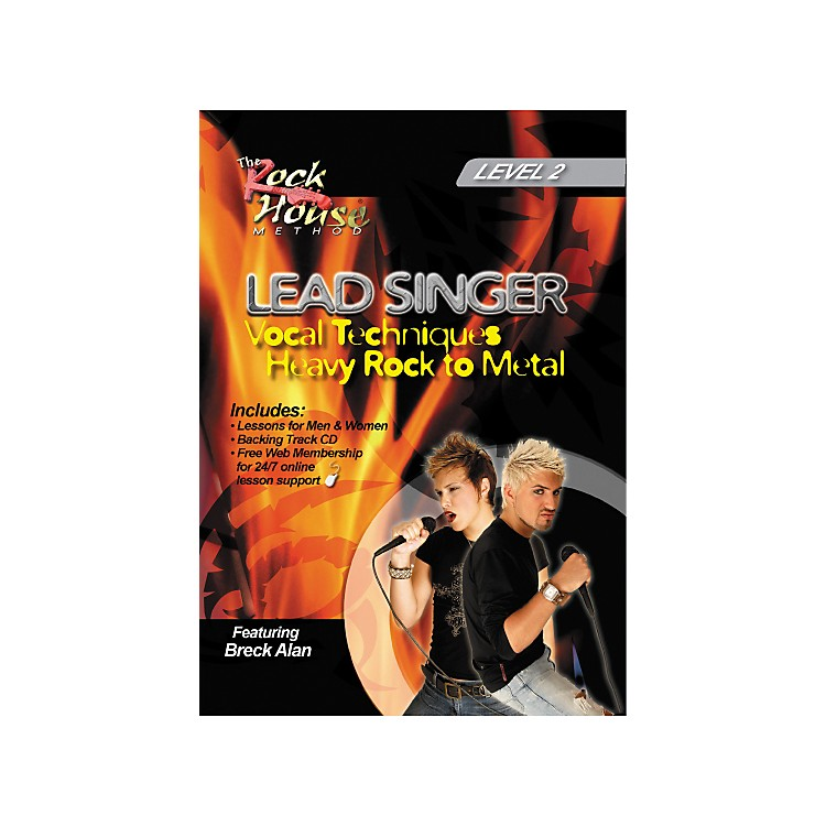 Hal Leonard Lead Singer Vocal Techniques From Heavy Rock to Metal DVD Level 2