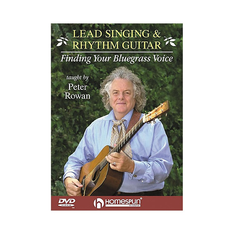 HomespunLead Singing and Rhythm Guitar - Finding Your Bluegrass Voice (DVD)
