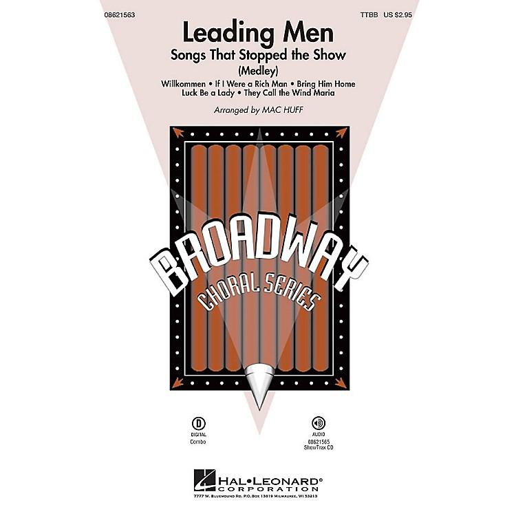Hal LeonardLeading Men: Songs That Stopped the Show (Medley) TTBB arranged by Mac Huff
