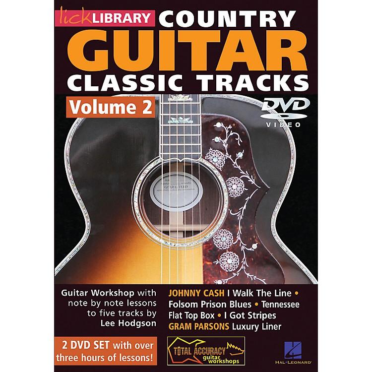 Hal LeonardLearn Country Guitar Classic Tracks Volume 2 (DVD)