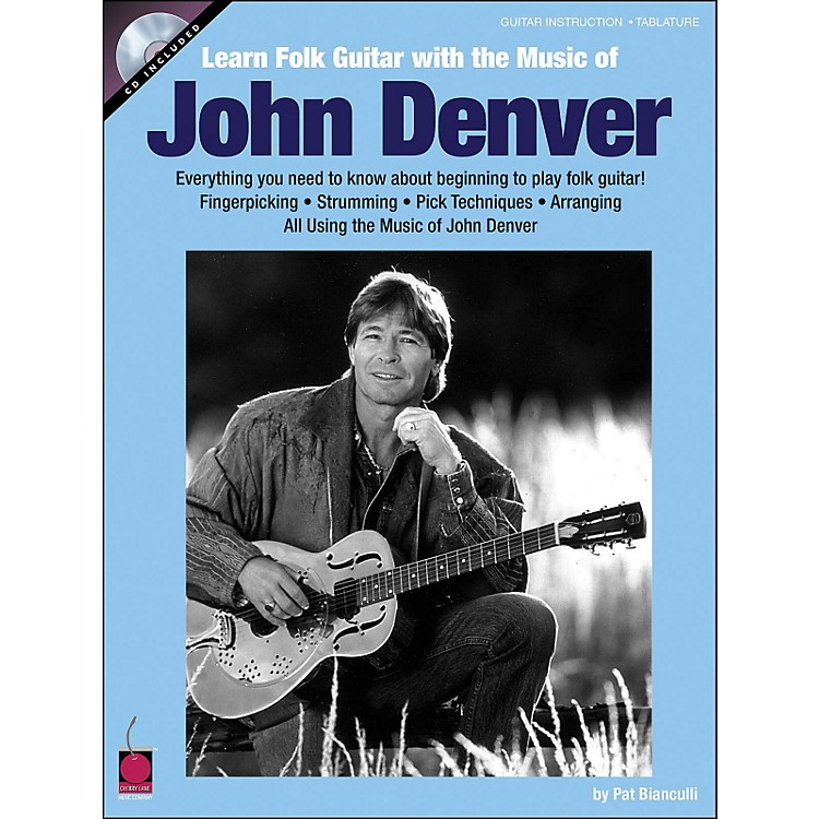Cherry LaneLearn Folk Guitar with The Music Of John Denver Book/CD