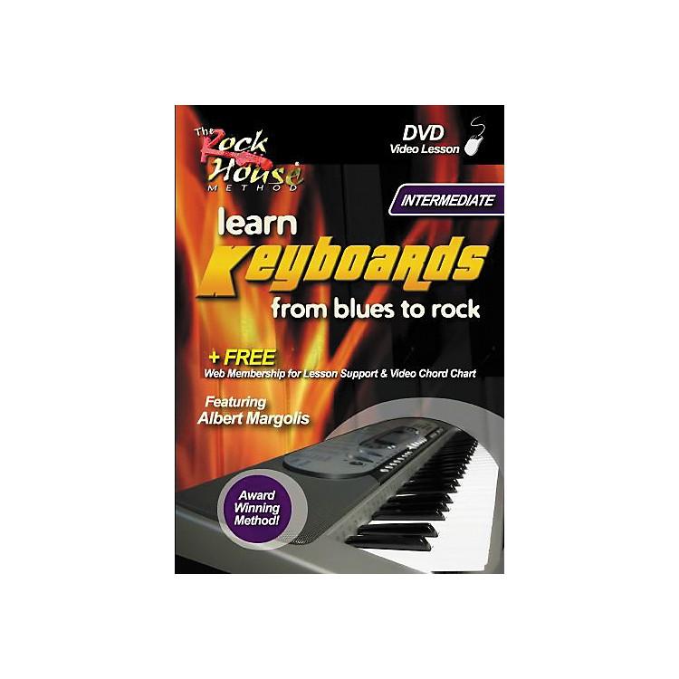 Hal LeonardLearn Keyboards From Blues to Rock Intermediate DVD