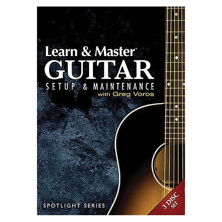 Hal LeonardLearn & Master Guitar Setup And Maintenance 3-DVD Set Legacy Of Learning Series