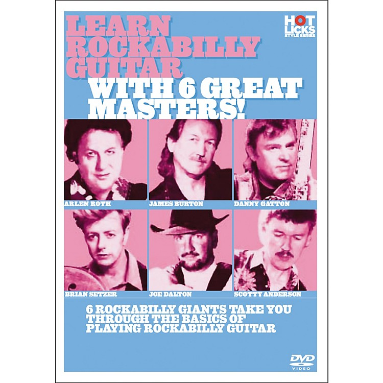 Hot LicksLearn Rockabilly Guitar with 6 Great Masters DVD