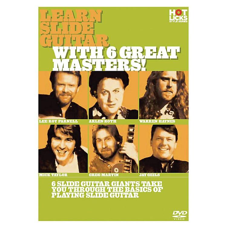 Music SalesLearn Slide Guitar with 6 Great Masters! Music Sales America Series DVD Performed by Arlen Roth