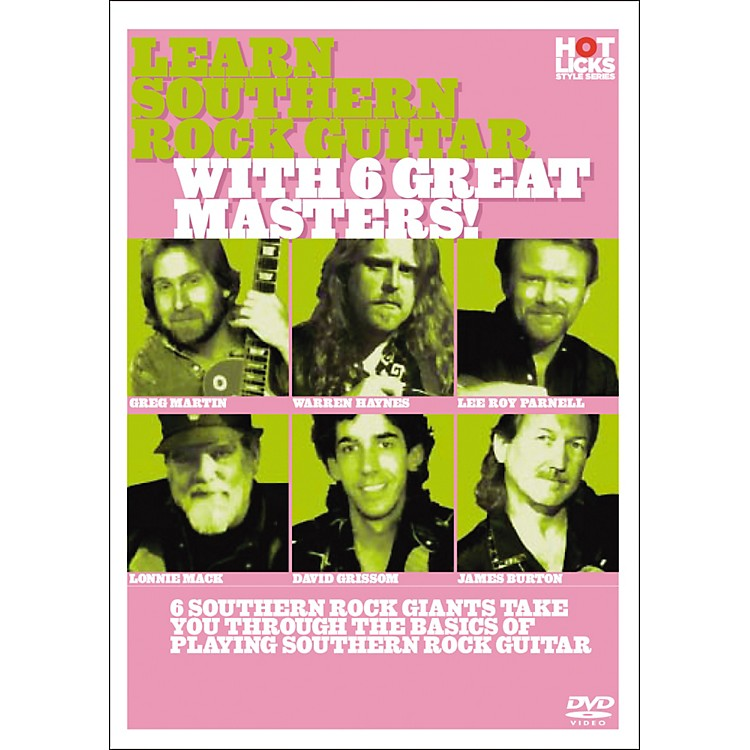 Hot Licks Learn Southern Rock Guitar with 6 great Masters