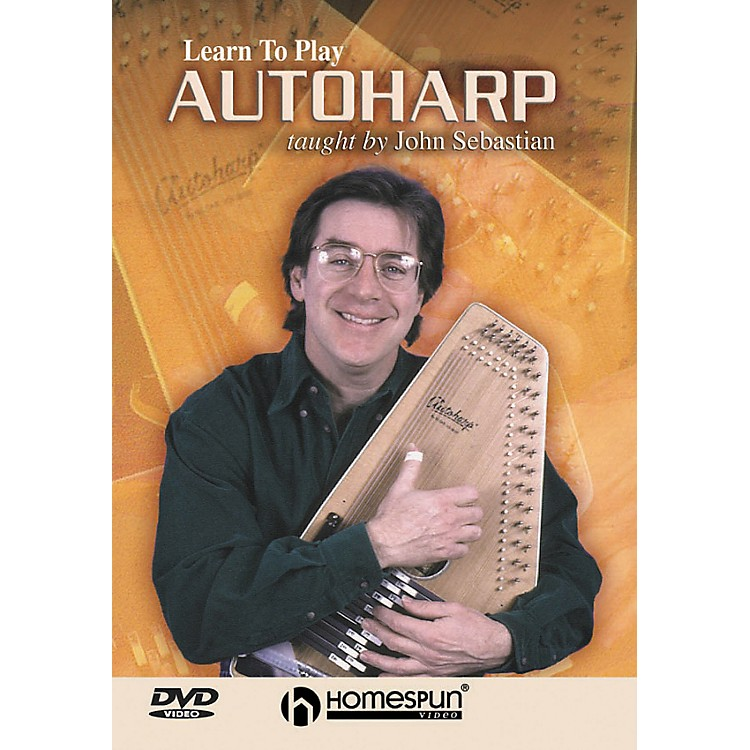 Homespun Learn To Play Autoharp (DVD)