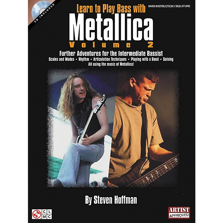 Hal LeonardLearn To Play Bass with Metallica Volume 2 Book with CD
