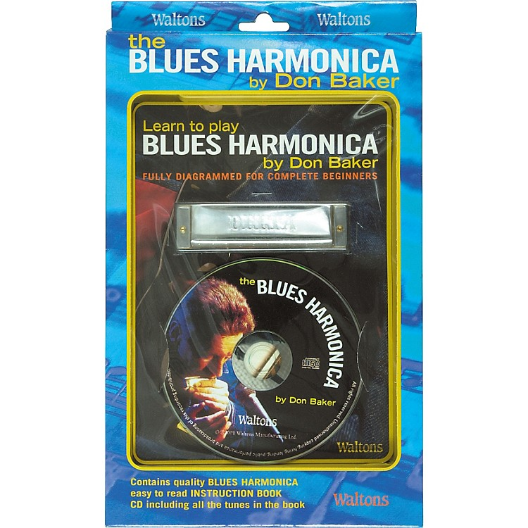 WaltonsLearn To Play Blues Harmonica Book and CD