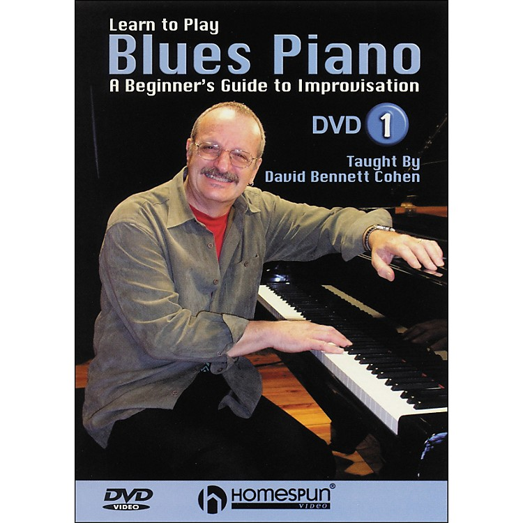 HomespunLearn To Play Blues Piano Lesson One DVD