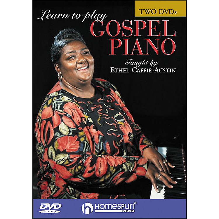 HomespunLearn To Play Gospel Piano 2 DVD Set