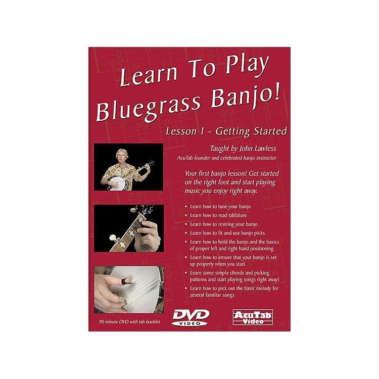 Mel Bay Learn to Play Bluegrass Banjo DVD: Lesson 1 - Getting Started