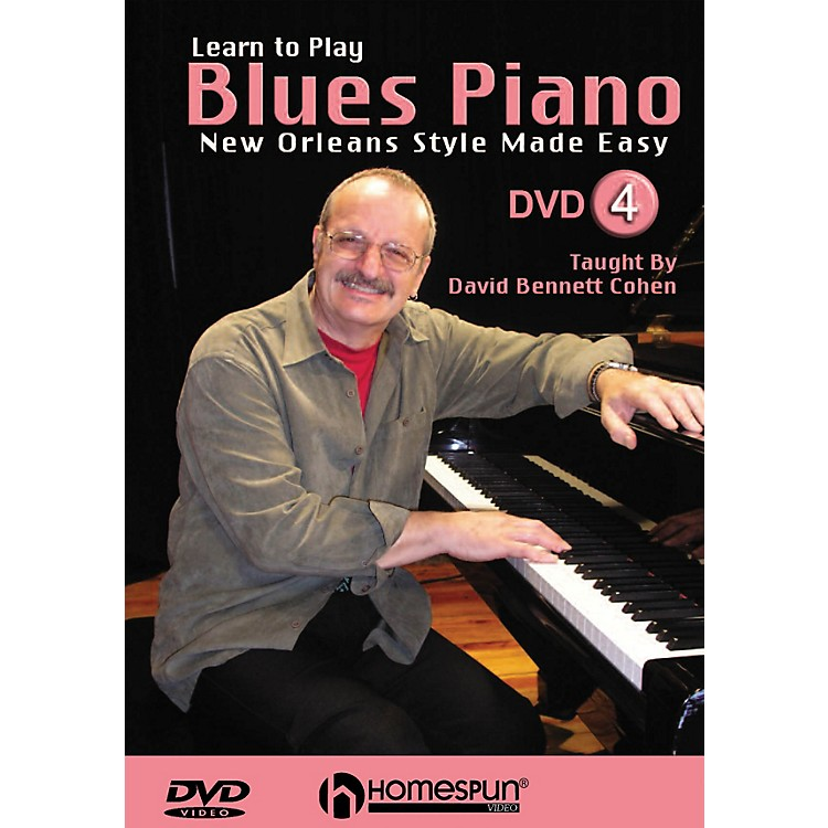 HomespunLearn to Play Blues Piano Homespun Tapes Series DVD Performed by David Bennett Cohen