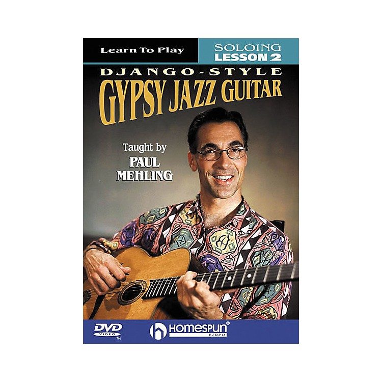 Homespun Learn to Play Django-Style Gypsy Jazz Guitar 2 (DVD)