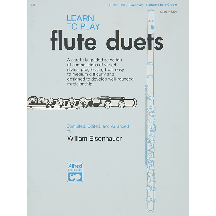 AlfredLearn to Play Flute Duets Book