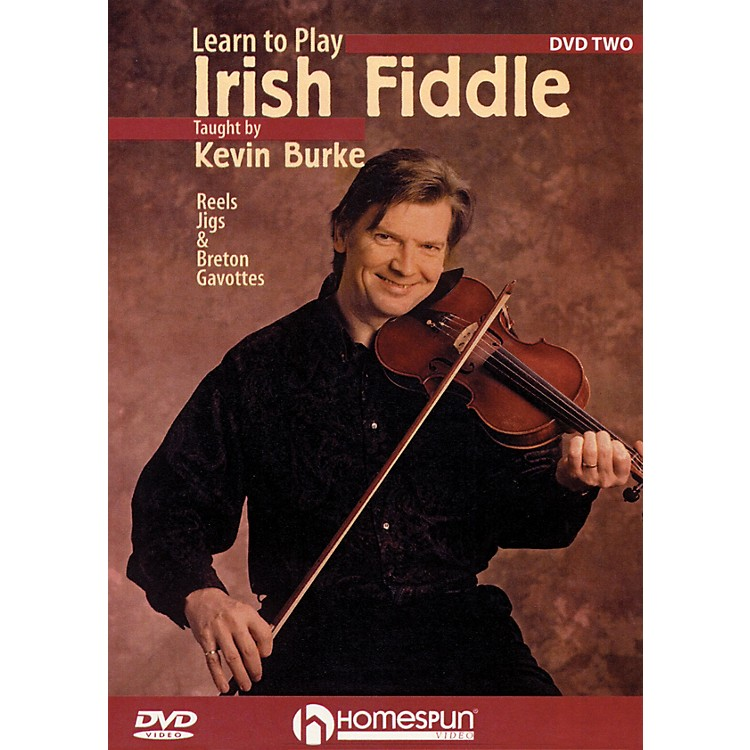 HomespunLearn to Play Irish Fiddle, Lesson Two DVD/Instructional/Folk Instrmt Series DVD Written by Kevin Burke