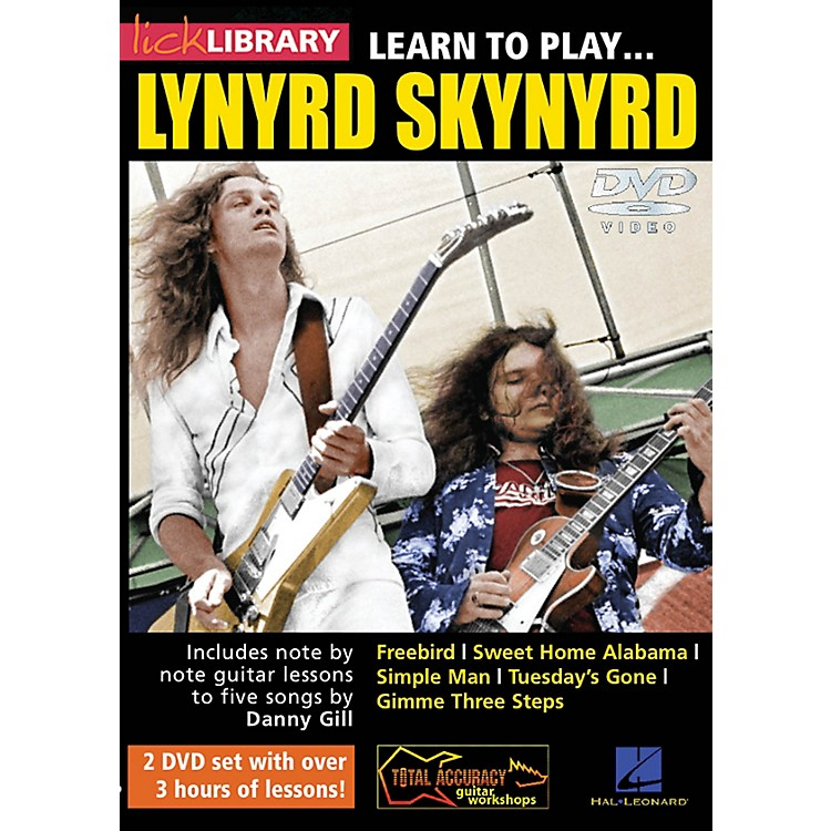 LicklibraryLearn to Play Lynyrd Skynyrd Lick Library Series DVD Written by Danny Gill