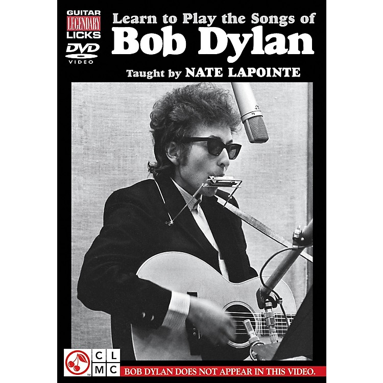 Hal Leonard Learn to Play The Songs of Bob Dylan - Guitar Legendary Licks DVD