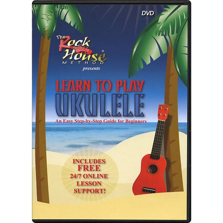 Hal Leonard Learn to Play Ukulele, An Easy Step-by-Step Guide for Beginners (DVD)