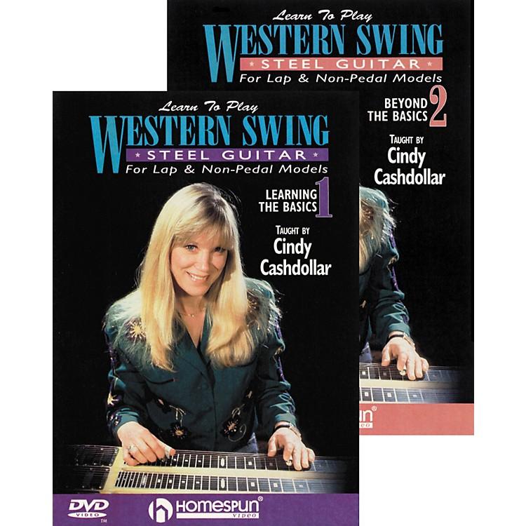 HomespunLearn to Play Western Swing Steel Guitar 2 DVD Set