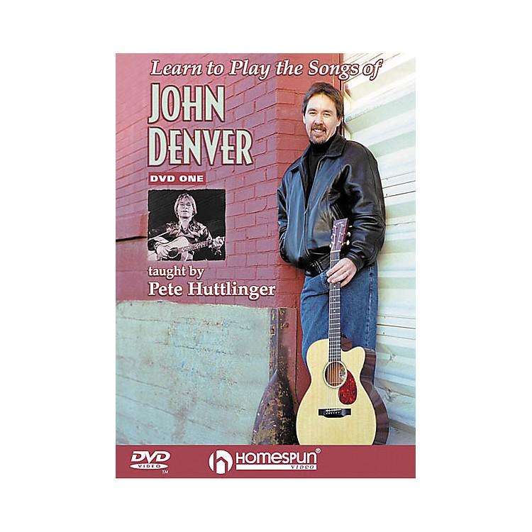 HomespunLearn to Play the Songs of John Denver - Level 2 (DVD)