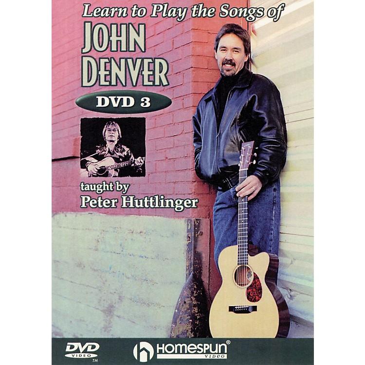 HomespunLearn to Play the Songs of John Denver Instructional/Guitar/DVD Series DVD Written by Pete Huttlinger