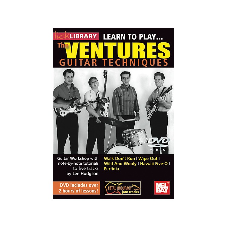 Hal LeonardLearn to Play the Ventures Guitar Techniques