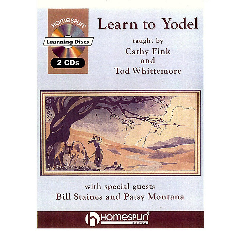 HomespunLearn to Yodel Homespun Tapes Series  by Cathy Fink