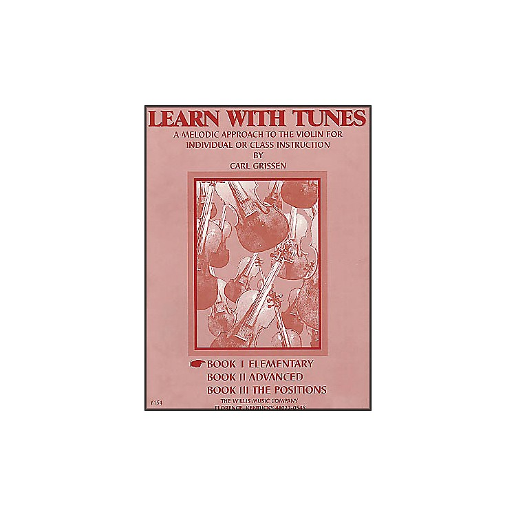 Willis MusicLearn with Tunes Book 1 Elementary for Violin