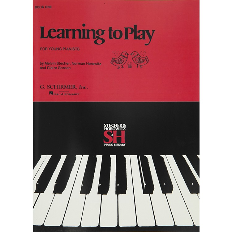 Music Sales Learning To Play Book 1 for Young Pianists