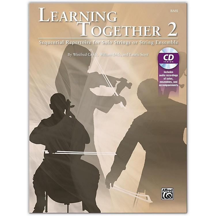 SuzukiLearning Together 2 Bass Book & CD