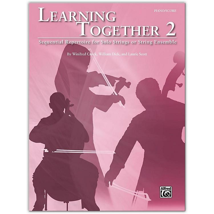 SuzukiLearning Together 2 Piano/Score