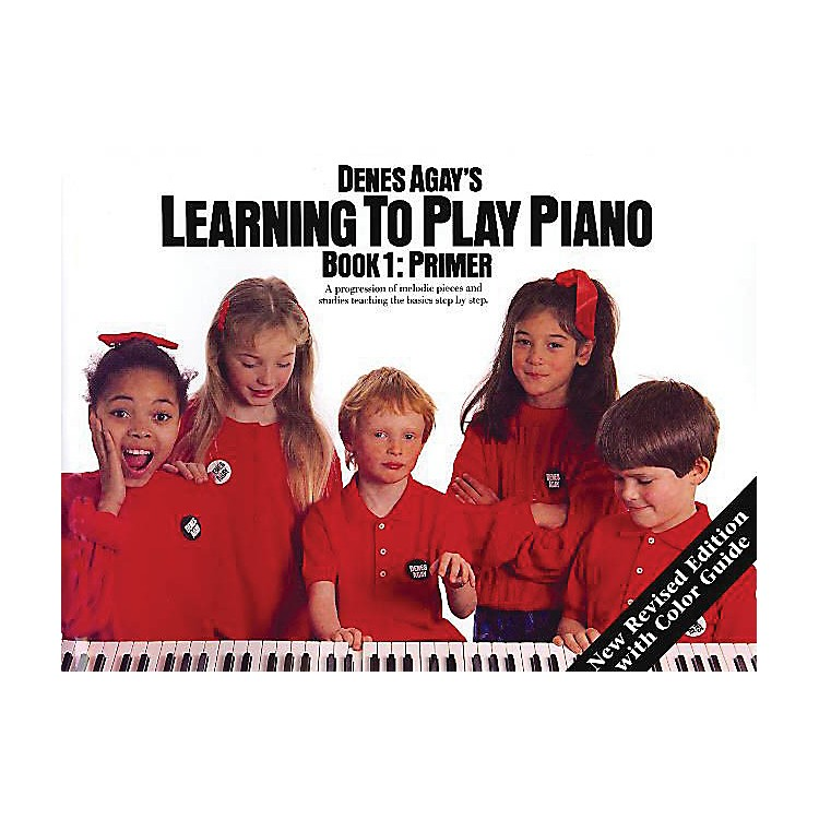 Music SalesLearning to Play Piano Book 1 - Getting Started Yorktown Series Softcover Written by Denes Agay