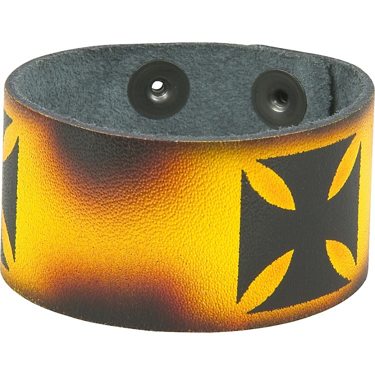 Perri's Leather Bracelet with Airbrushed Design Chopper