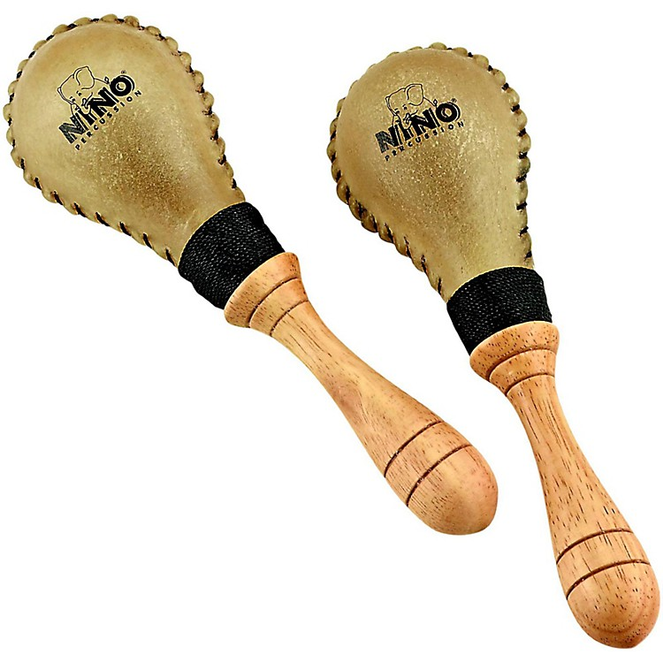 Nino Leather Maracas/Pair  Small