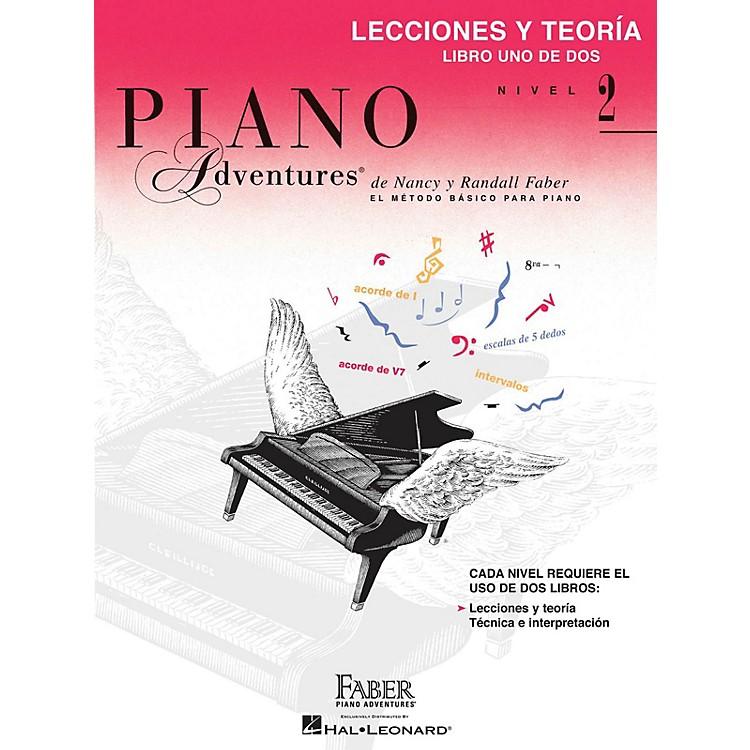 Faber Piano AdventuresLecciones y Teoria - Libro Uno de Dos Nivel 2 Faber Piano Adventures Series Softcover by Randall Faber