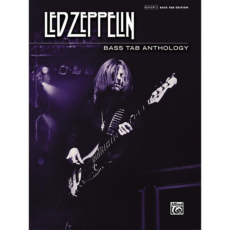 AlfredLed Zeppelin - Bass Tab Anthology Book