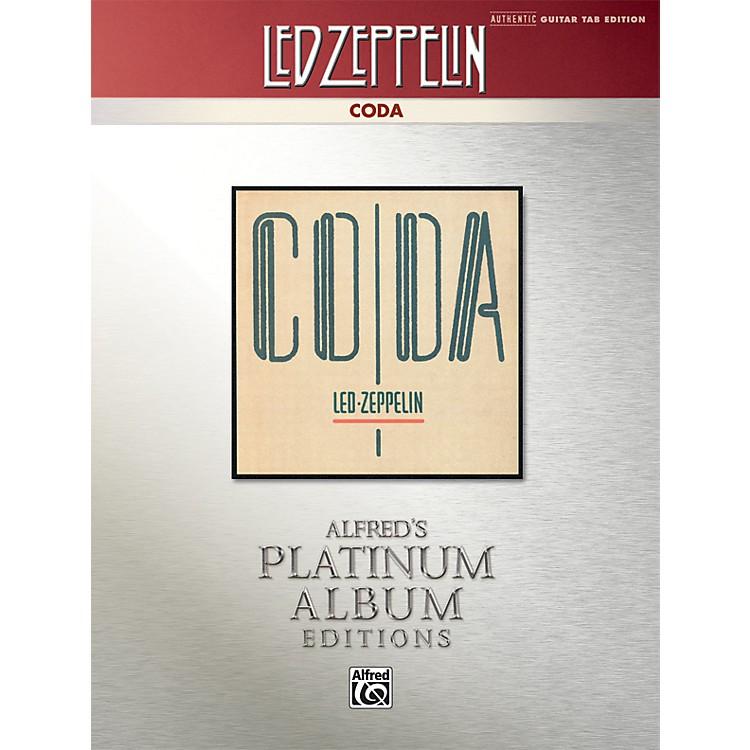 AlfredLed Zeppelin - Coda Platinum Guitar Book