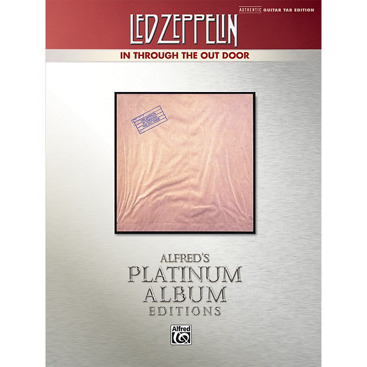 AlfredLed Zeppelin - In Through the Out Door Platinum Guitar TAB Book