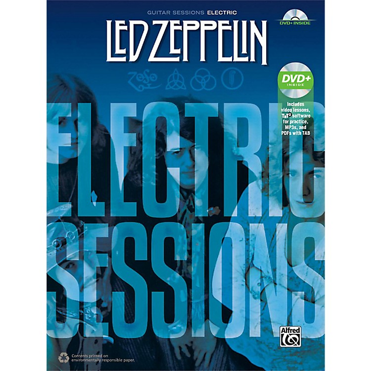 AlfredLed Zeppelin: Electric Sessions Guitar TAB Edition Book & DVD