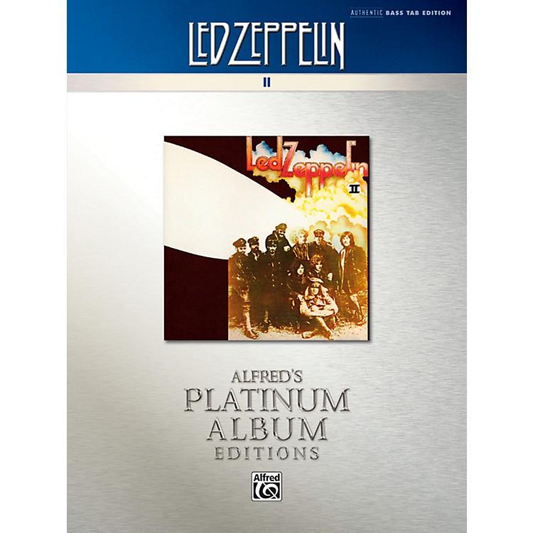 AlfredLed Zeppelin II Platinum Bass Guitar Book
