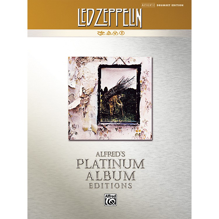 AlfredLed Zeppelin IV Authentic Drumset Edition