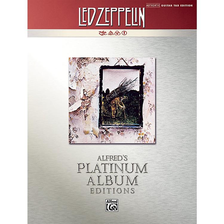 AlfredLed Zeppelin IV Guitar Tab Platinum Edition Book
